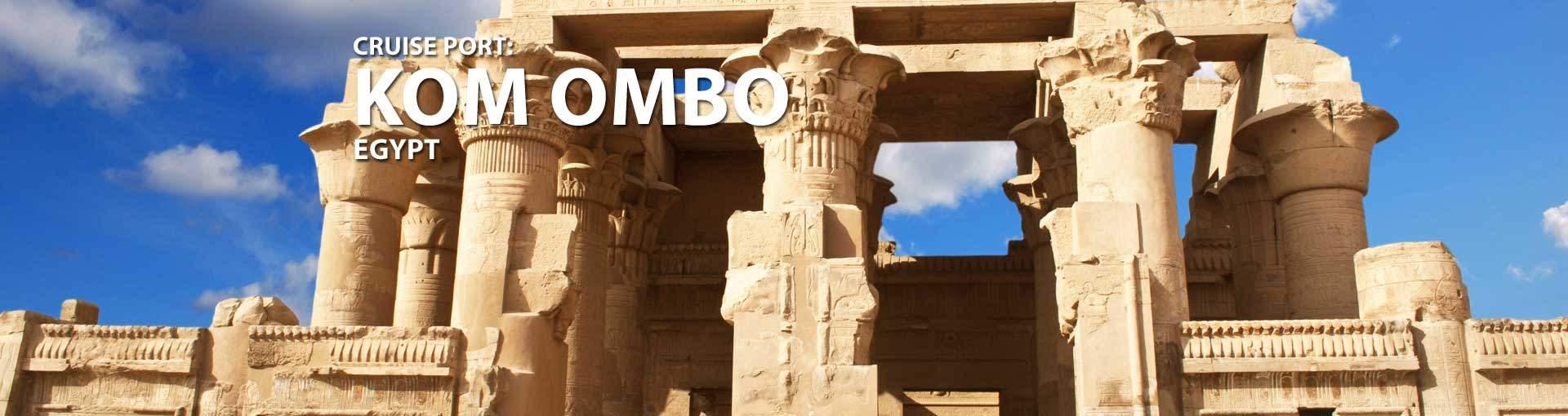 Cruises to Kom Ombo, Egypt