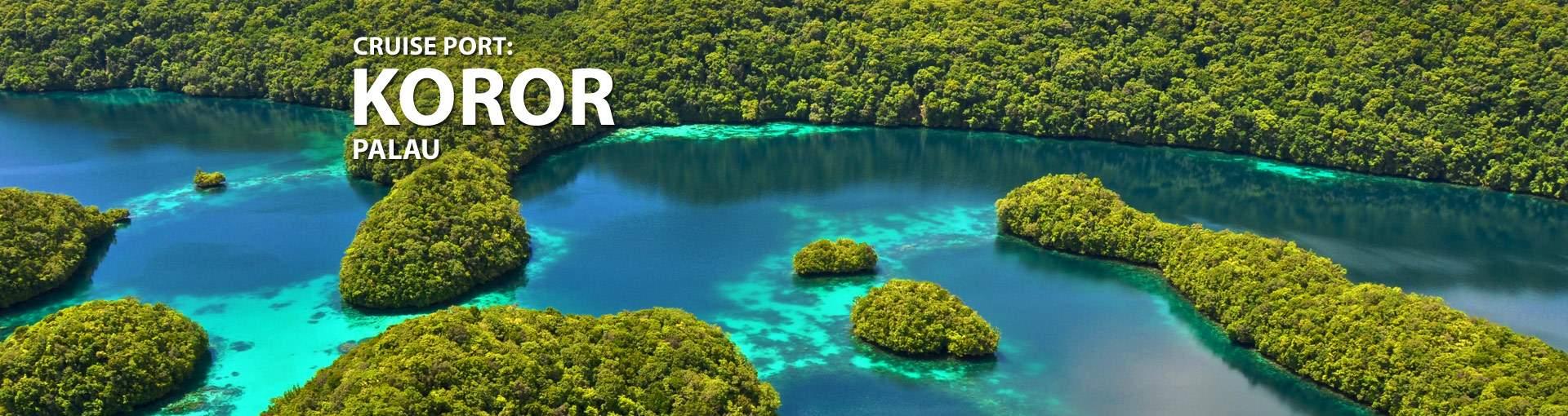 Cruises from Koror, Palau