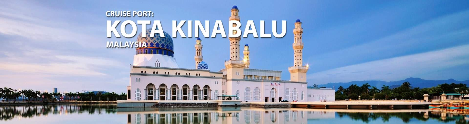 Cruises from Kota Kinabalu, Malaysia