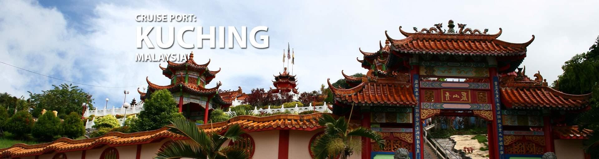 Cruises to Kuching, Malaysia