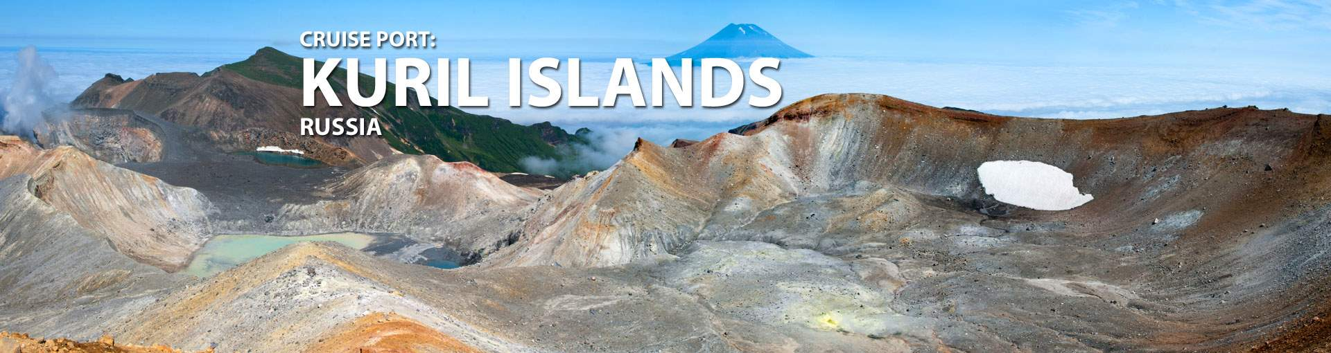 Cruises to Kuril Islands, Russia