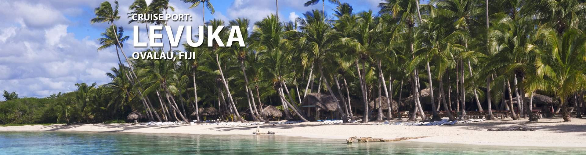 Cruises to Levuka, Ovalau