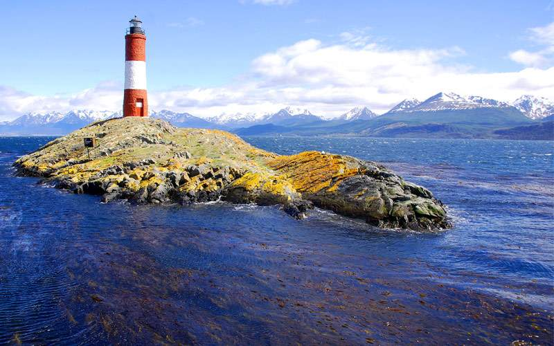 Lighthouse Ushuaia Patagonia Argentina