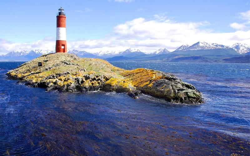 Lighthouse Ushuaia Patagonia Argentina
