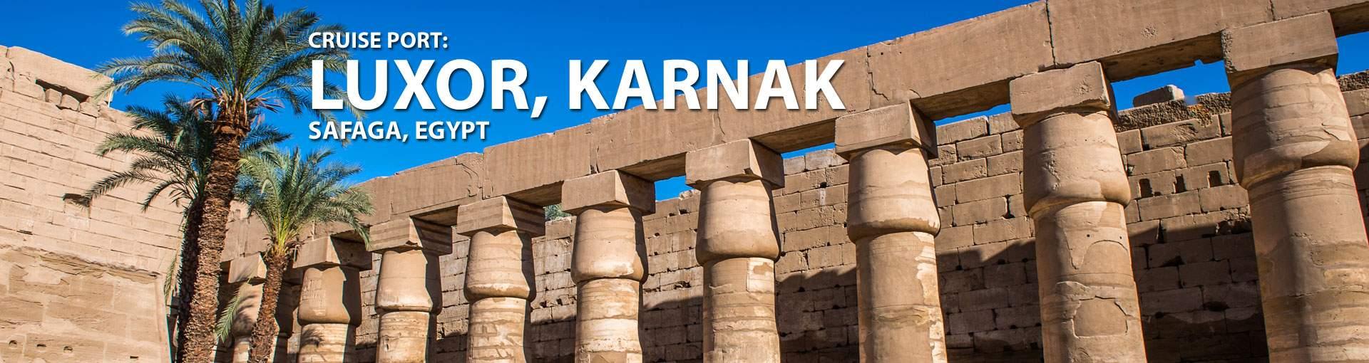 Cruises to Luxor, Karnak (Safaga), Egypt