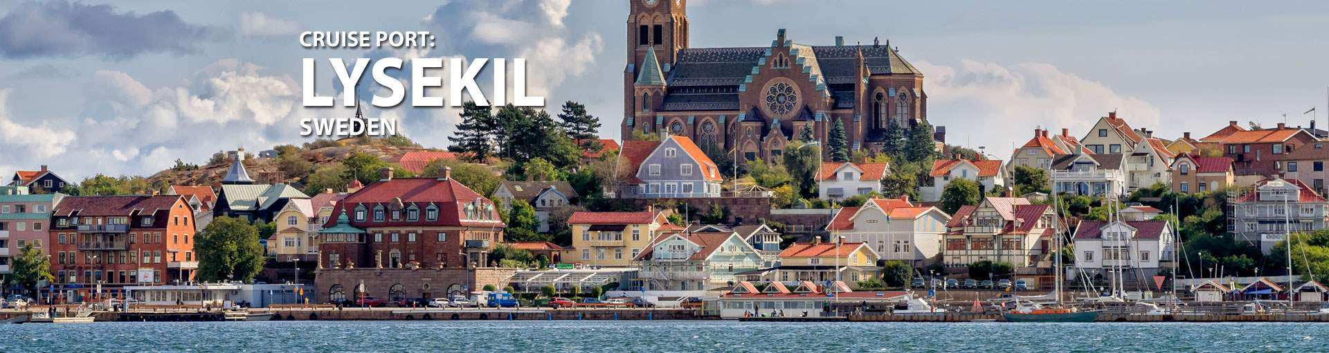 Cruises to Lysekil, Sweden
