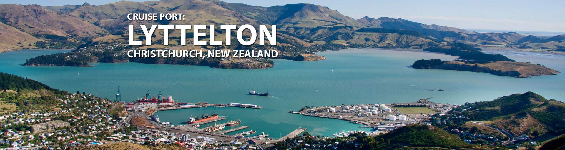 Cruises to Lyttelton (Christchurch), New Zealand