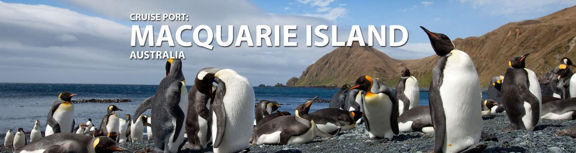 Cruises to Macquarie Island, Australia