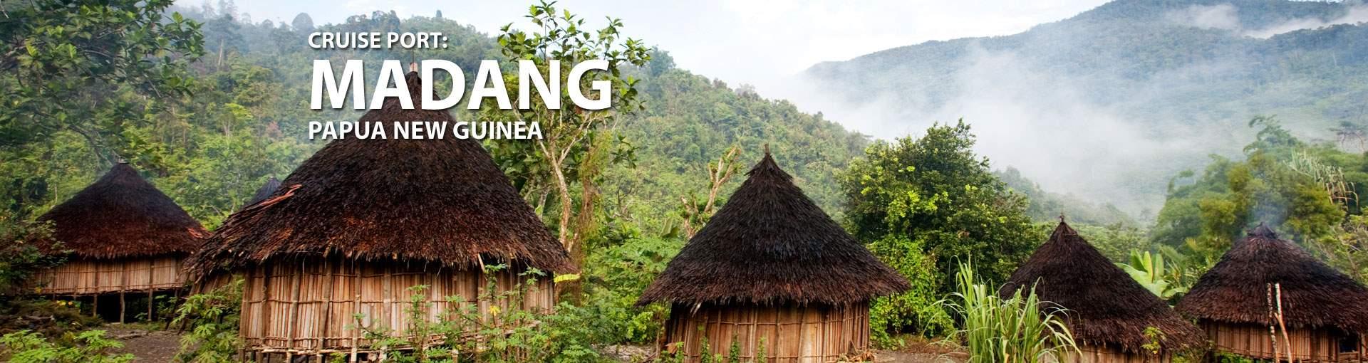 Cruises to Madang, Papua New Guinea