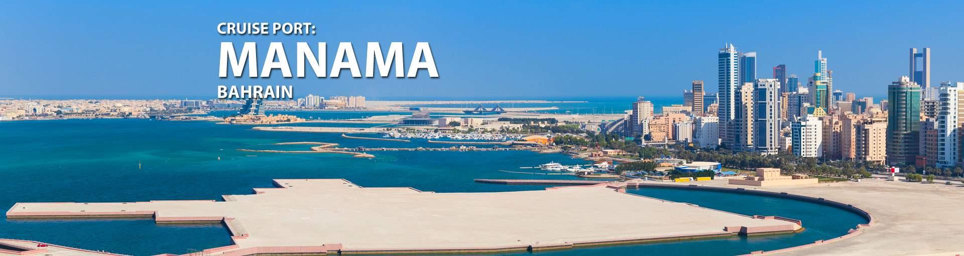 Cruises to Manama, Bahrain