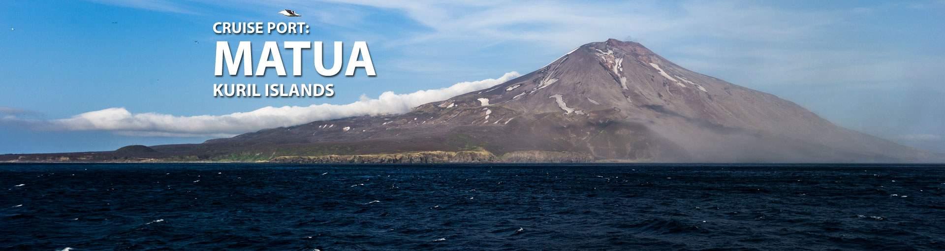 Cruises to Matua, Kuril Islands