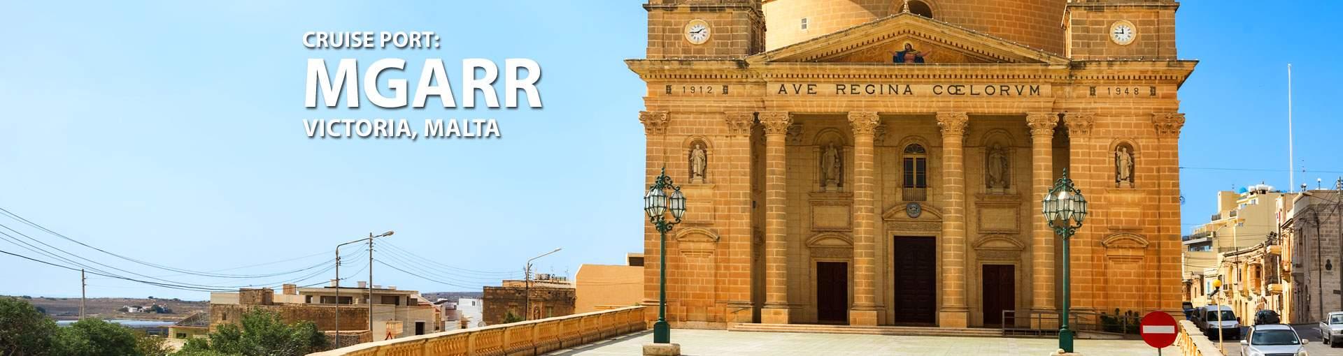 Cruises to Mgarr (Victoria), Malta