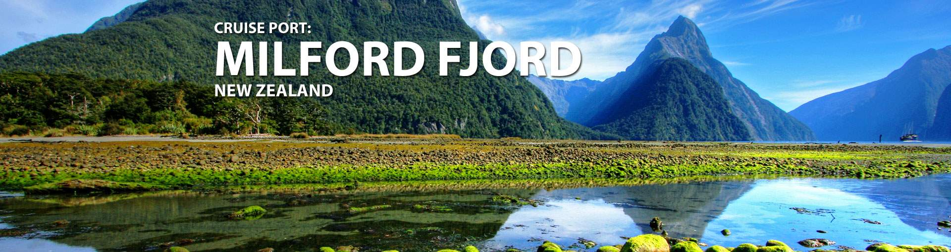 Cruises to Milford Fjord, New Zealand