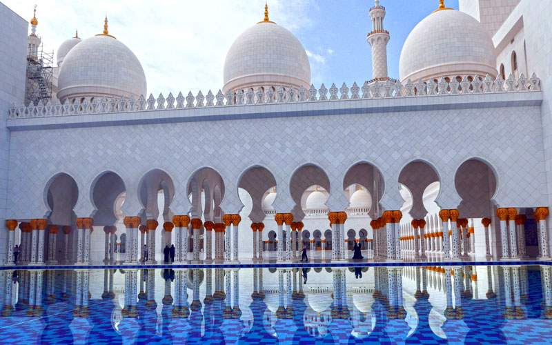 Mosque in Abu Dhabi, UAE