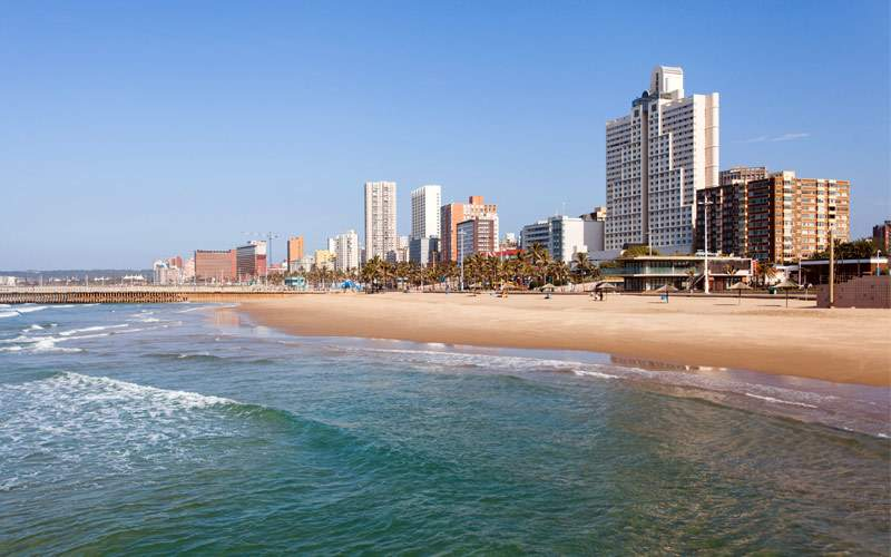 Beach in Durban, South Africa MSC Cruises