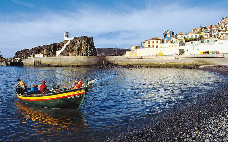 Boat ride along Funchal MSC Cruises Transatlantic