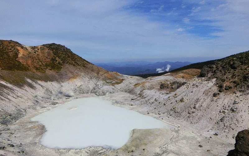 Explore a Volcano in Japan