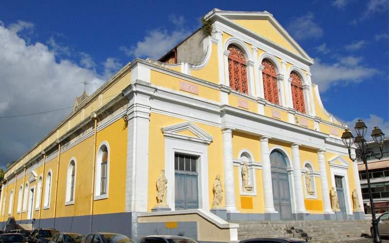 Basilica of Pointe-a-Pitre Guadeloupe MSC Cruises