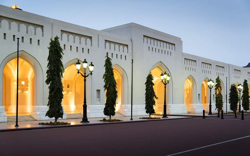 Sultan Qaboos Palace in Muscat MSC Cruises Asia