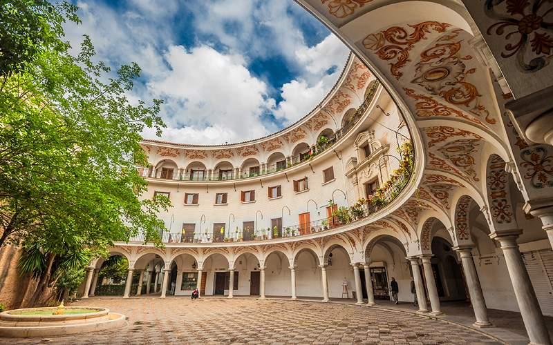Plaza del Cabildo, Seville, Spain MSC Cruises
