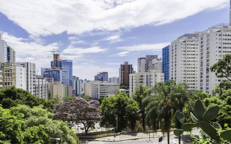 Sao Paulo Brazil skyline MSC Cruises South America