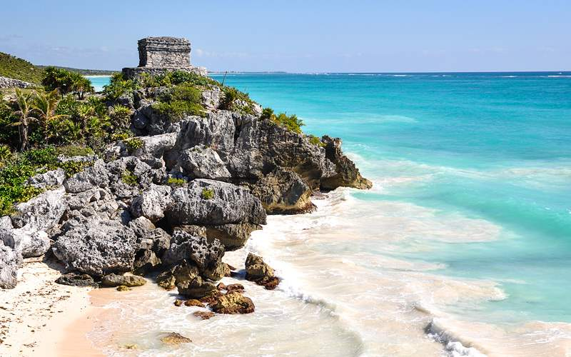Tulum Mayan Ruins in Mexico MSC Cruises Caribbean