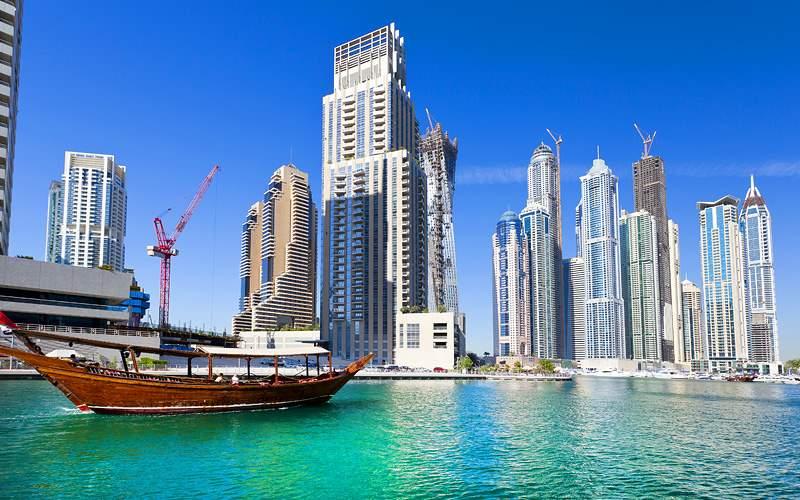 Dubai city MSC Cruises Asia
