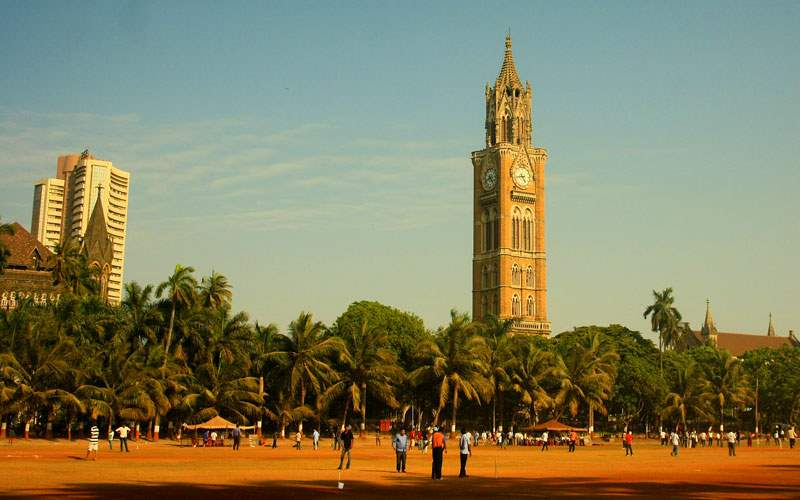 Mumbai, India clock tower