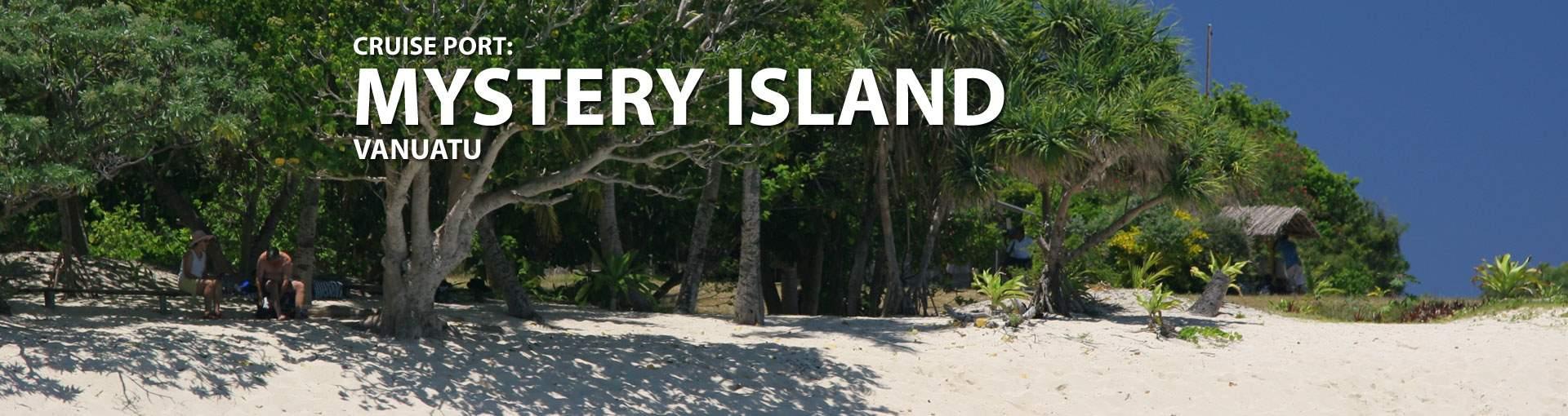 Cruises to Mystery Island Vanuatu