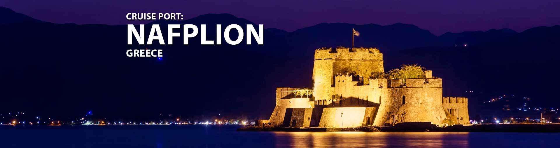 Cruises to Nafplion, Greece