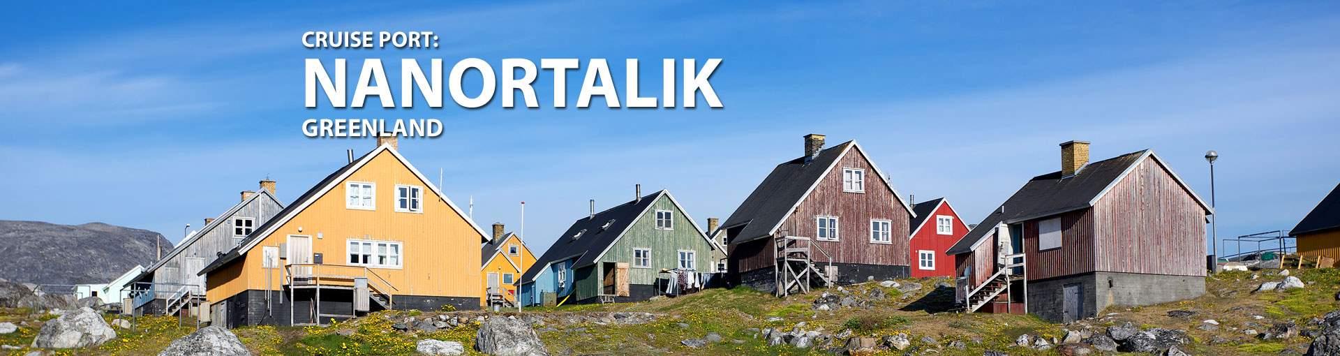 Cruises to Nanortalik, Greenland