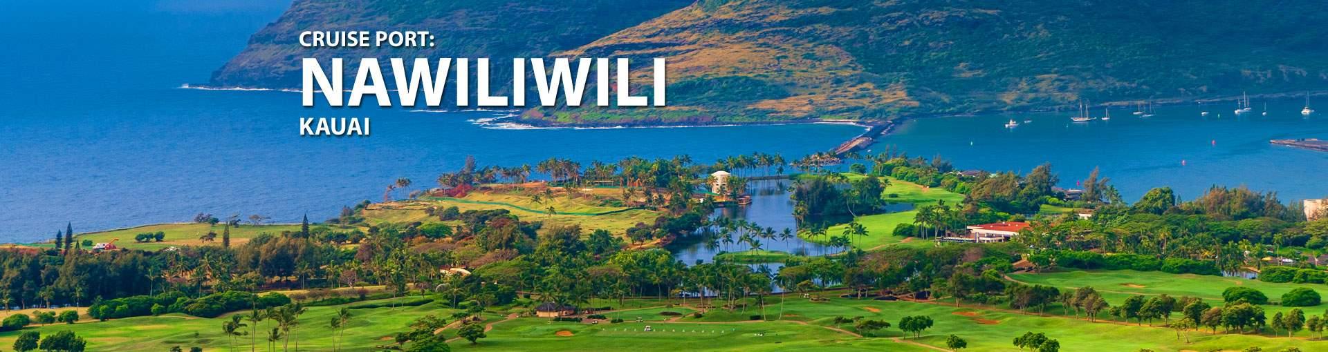 Cruises to Nawiliwili, Kauai