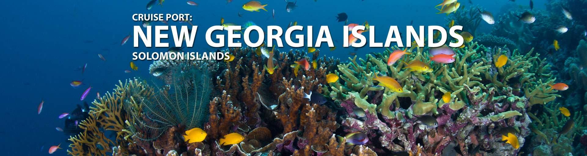 Cruises to New Georgia Islands, Solomon Islands