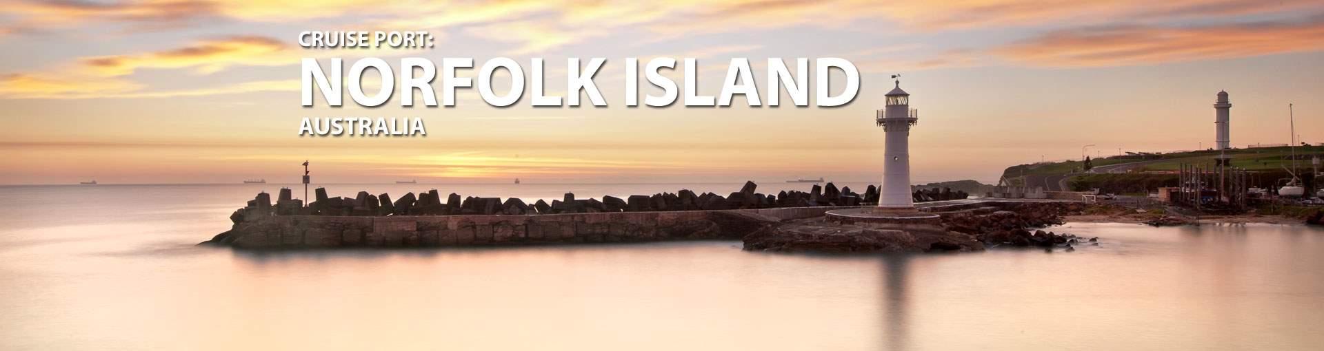 Cruises to Norfolk Island, Australia