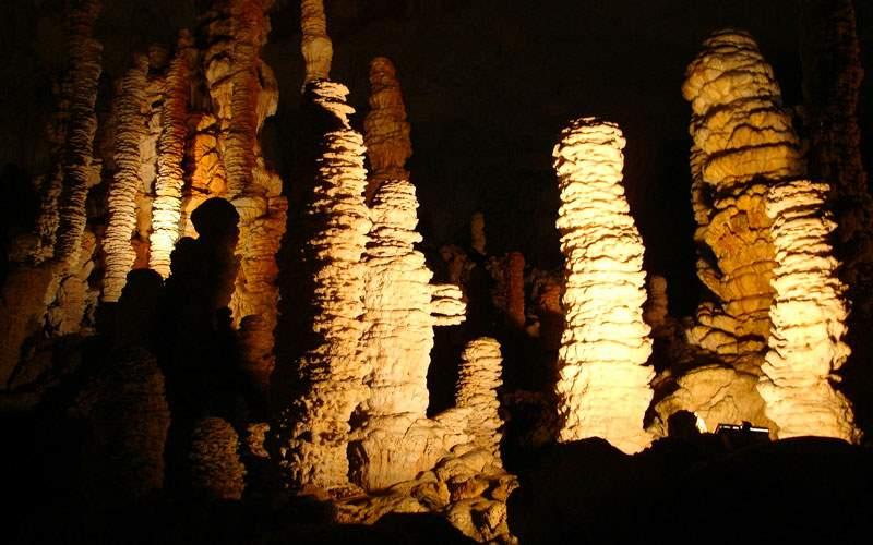 Underground Cave in Barbados