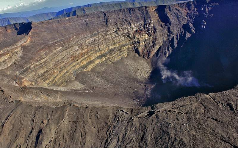 Volcano in Reunion