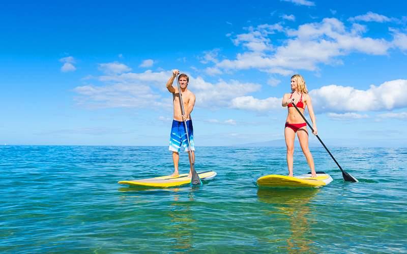 Bermuda Paddleboarding Norwegian Cruise Line