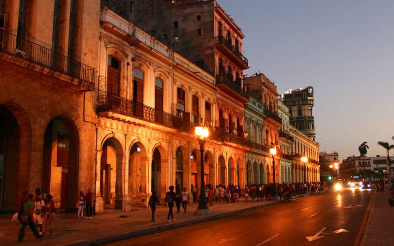 Havana, Cuba at Night