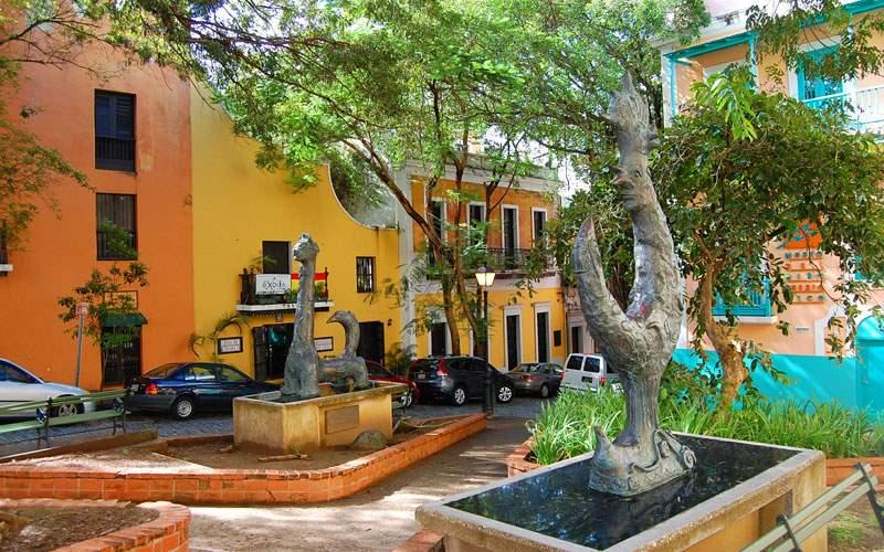 Colorful Streets in San Juan