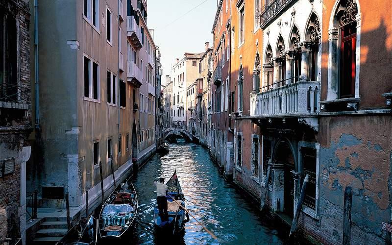 Venice gondola ride Mediterranean Norwegian Cruise