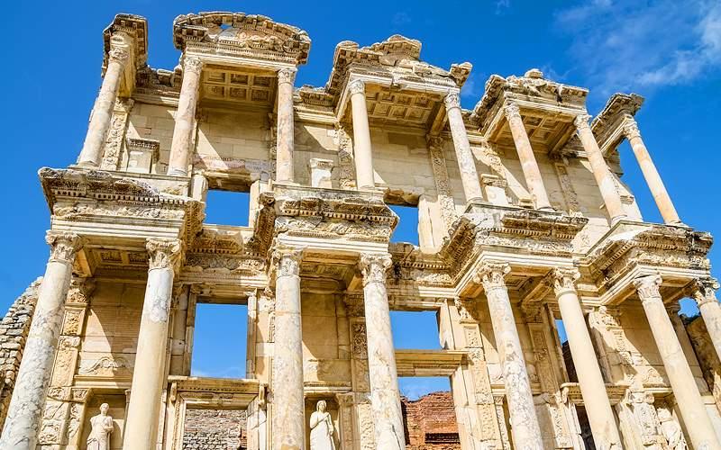Library of Celsus Ephesus Turkey Norwegian Cruise