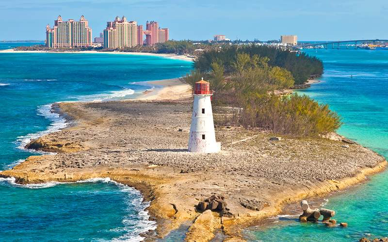 lighthouse Providence Island Bahamas Norwegian