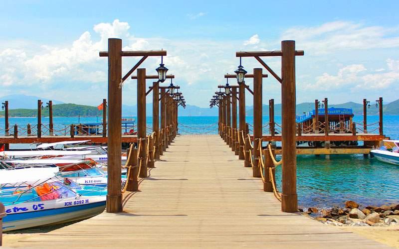 Norwegian Beach in Nha Trang, Vietnam