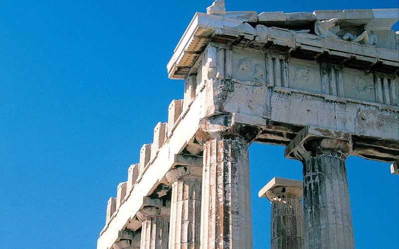 Parthenon Temple in Athens Greece Norwegian Cruise