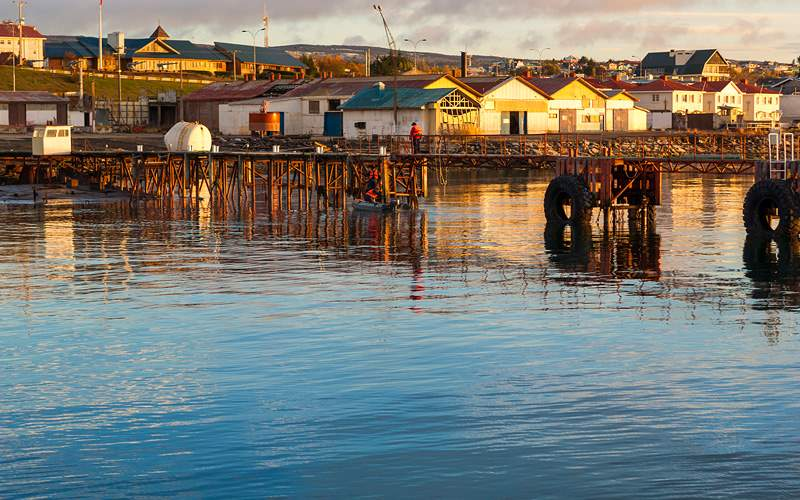 Punta Arenas cityscape, Chile Norwegian Cruise