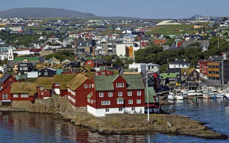 Thorshavn, Faroe Islands Transatlantic Norwegian