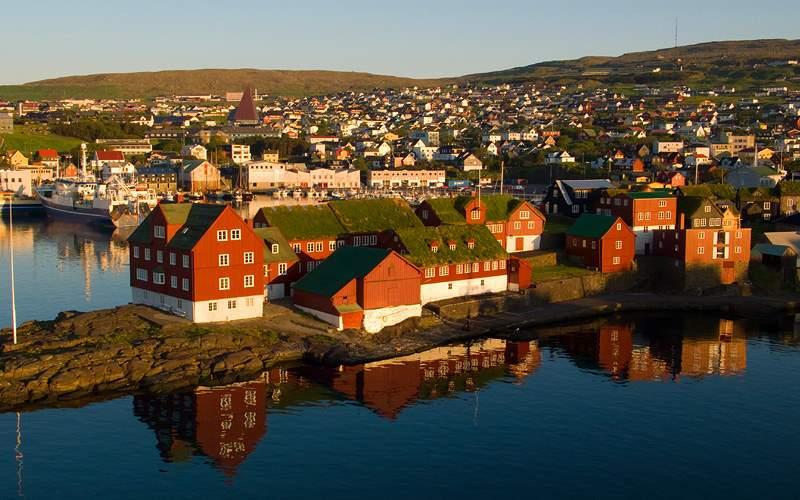 Torshavn, Faroe Islands Norwegian Cruise Transatl