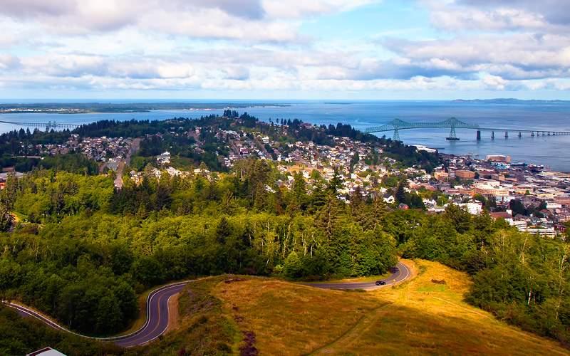 Astoria Oregon & Columbia River Norwegian Cruise