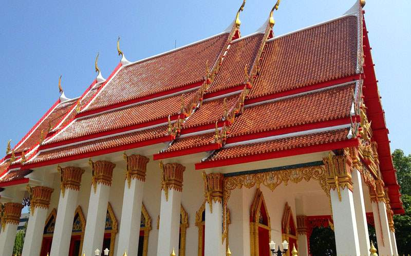Norwegian Wat Chalong Temple in Phuket, Thailand