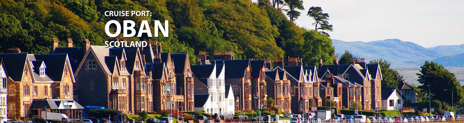Cruises to Oban, Scotland